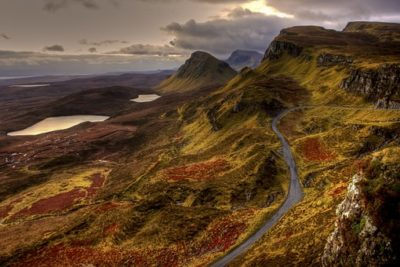 """Scotland named """"the most beautiful country in the world"""" in a travel guide readers' poll"""